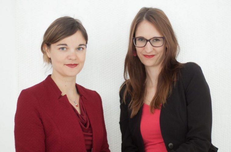 Bettina Steinbrugger (l.) und Annemarie Harant von Erdbeerwoche