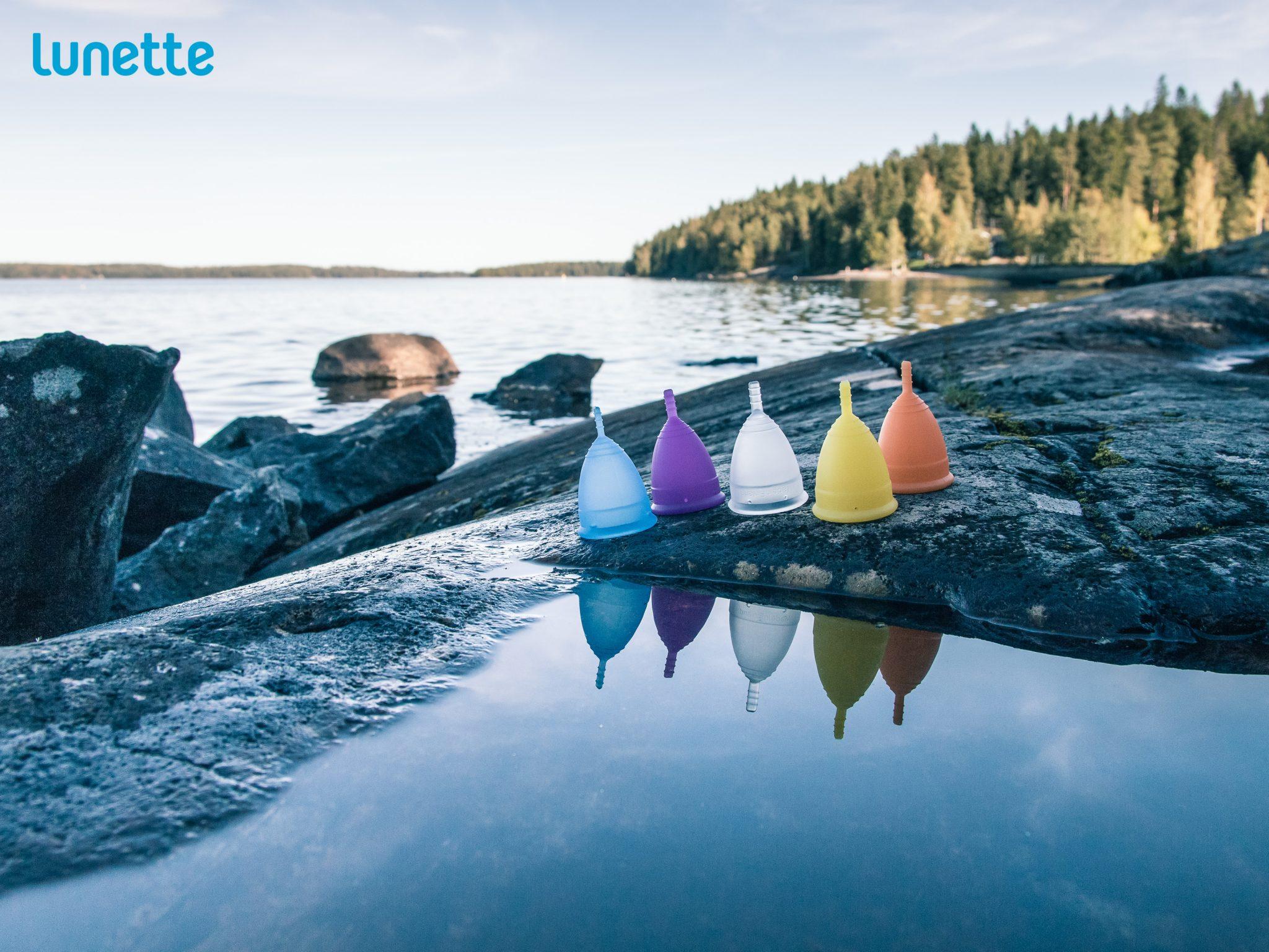 Menstruationstasse von der finnischen Firma Lunette