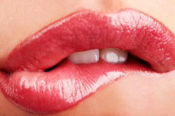 Lippen als Symbolbild für Energy Sex