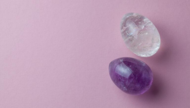 Yoni-Ei, Yoni Egg Rocks, Beckenboden