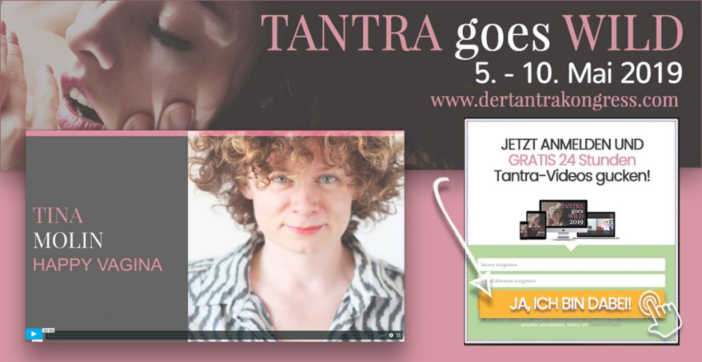 Tina als Speakerin Tantrakongress