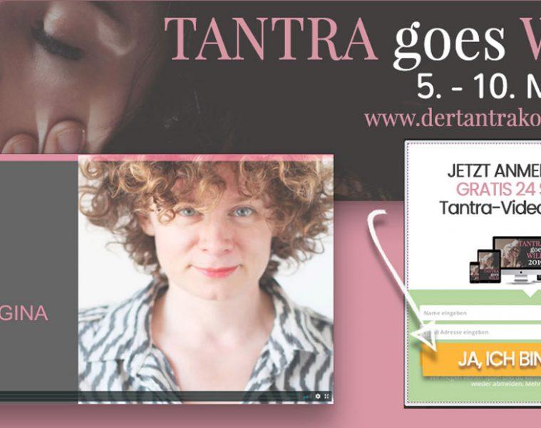 Tina als Speakerin Tantrakongress